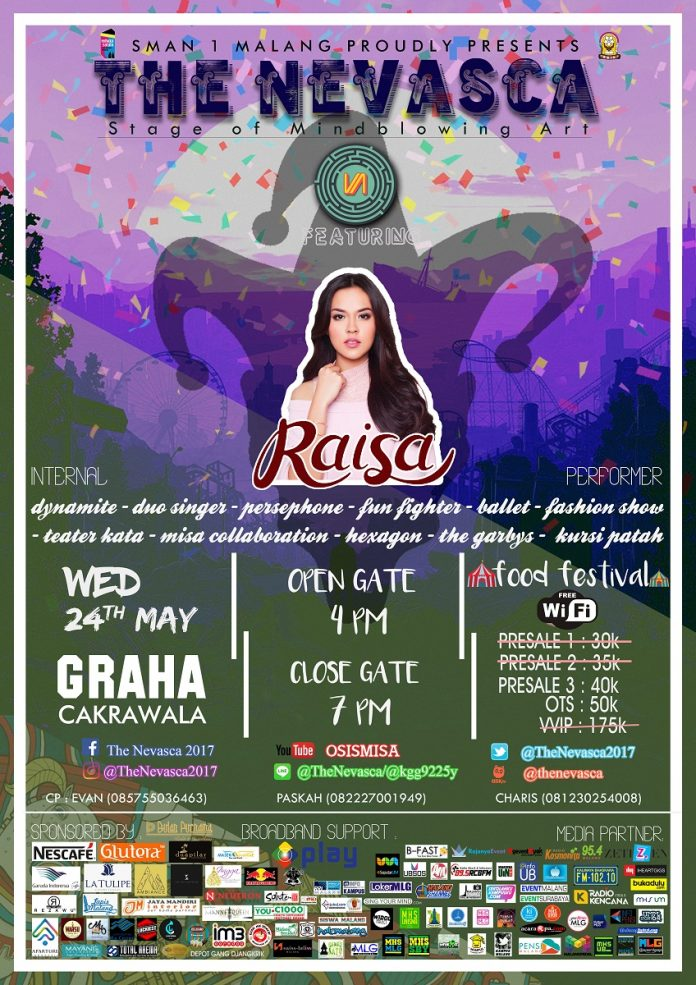 "The Nevasca ""Stage of Mindblowing Arts"" - Graha Cakrawala UM, 24 Mei 2017"