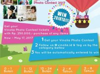 Vinolia Instagram Photo Contest, Periode 1 - 17 Mei 2017