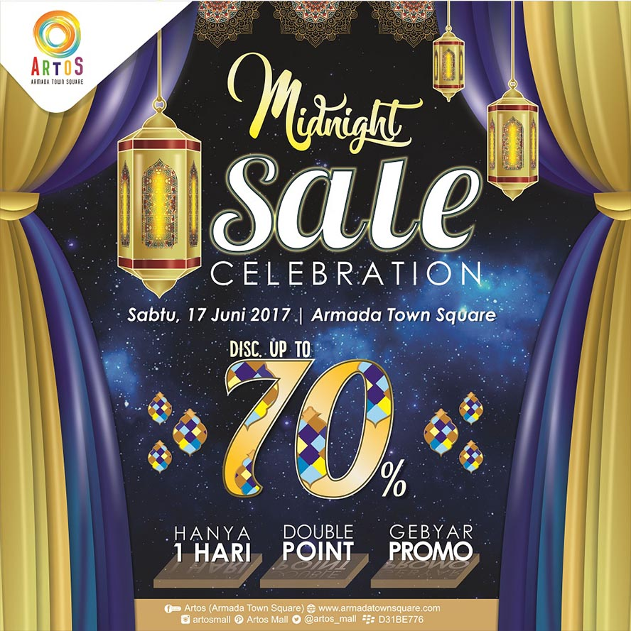 Armada Town Square Magelang Midnight Celebration, 17 Juni 2017