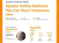 Easiest Online Business You Can Start Tomorrow - Ngalup Coworking Space Malang, 11 Juni 2017