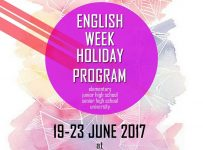 English Week Holiday Program - Merachel Art & Fashion Course Malang, 19 - 23 Juni 2017