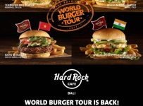 Hard Rock's World Burger Tour - Hard Rock Cafe Bali, s/d 30 Juni 2017