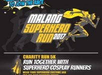 Malang Superhero Run - Universitas Ma Chung, 10 September 2017