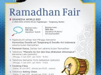 Ramadhan Fair - Gramedia World BSD, 1 - 30 Juni 2017
