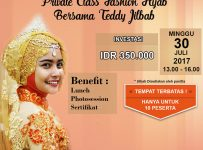 Semi Private Hijab Class with Teddy Jilbab - MoleQ Studio Expo-Sure Jakarta, 30 Juli 2017