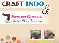 Solo Craft Indo & Apresiasi Kain Khas Nusantara - The Park Mall Solo Baru, 10 - 12 November 2017