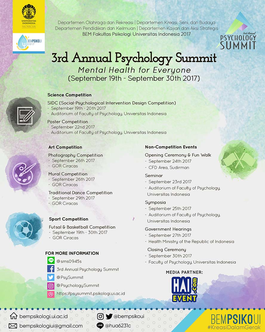 3rd Annual Psychology Summit
