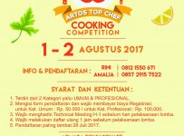 Artos Top Chef - Atrium Artos Mall Magelang, 1-2 Agustus 2017