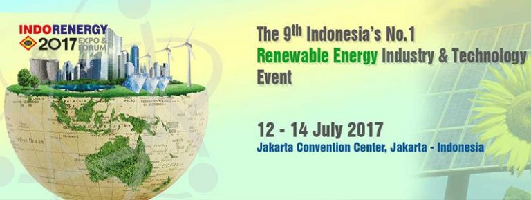 IndoRenergy Expo & Forum - Jakarta Convention Center (JCC), 12-14 Juli 2017