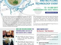 IndoWater Expo & Forum - Jakarta Convention Center (JCC), 12-14 Juli 2017