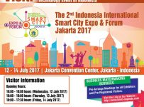 Indonesia International Smart City Expo & Forum (IISMEX) - Jakarta Convention Center (JCC), 12-14 Juli 2017