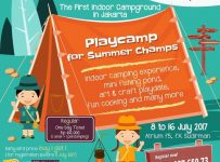 Playcamp for Summer Champs - fX Sudirman Jakarta, 8-16 Juli 2017