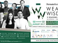 "Wealth Wisdom ""3 Seasons of Wealth"" - Ritz Carlton Pacific Place, 2-3 Agustus 2017"