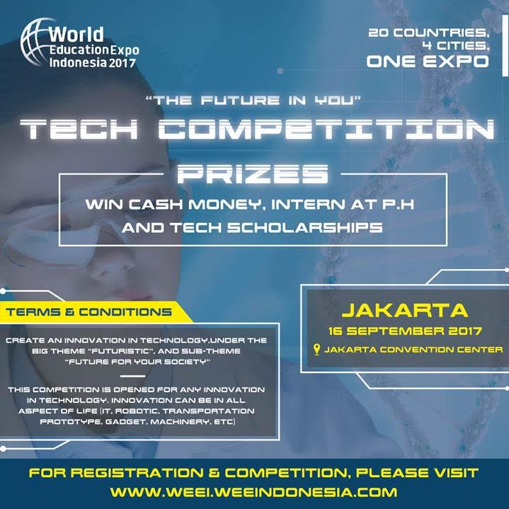 World Education Expo Indonesia : Tech Competition - Jakarta Convention Center, 16 September 2017World Education Expo Indonesia : Tech Competition - Jakarta Convention Center, 16 September 2017
