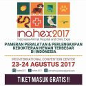 Indonesian Animal Hospital and Clinic Expo (INAHEX) - IPB International Convention Center, 21-26 Agustus 2017