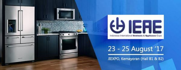 Indonesian International Electronic and Home Appliance Expo (IEAE) - JIExpo, 23-25 August 2017