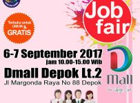Job Fair ​DMall Depok​, 6-7 September 2017​