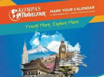 Kompas Travel Fair - Jakarta Convention Center, 1-3 September 2017