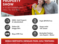 Rumah.com Property Show - Indonesia Convention Exhibition (ICE), 6-10 September 2017