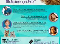 "Seminar Nasional ""Acupuncture : Alternative Medicine for Pets"" - UGM, 2 Sept 2017"
