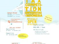 Tax Competition University of Indonesia 2017