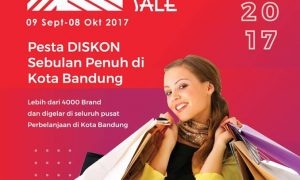 Bandung Great Sale, 9 September - 8 Oktober 2017