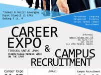 Career Days II Unika Widya Mandala Surabaya, 28 Oktober - 8 November 2017Career Days II Unika Widya Mandala Surabaya, 28 Oktober - 8 November 2017Career Days II Unika Widya Mandala Surabaya, 28 Oktober - 8 November 2017