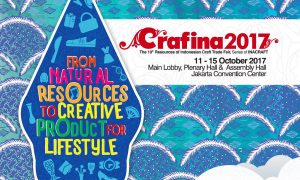Crafina - Jakarta Convention Center (JCC), 11 - 15 Oktober 2017