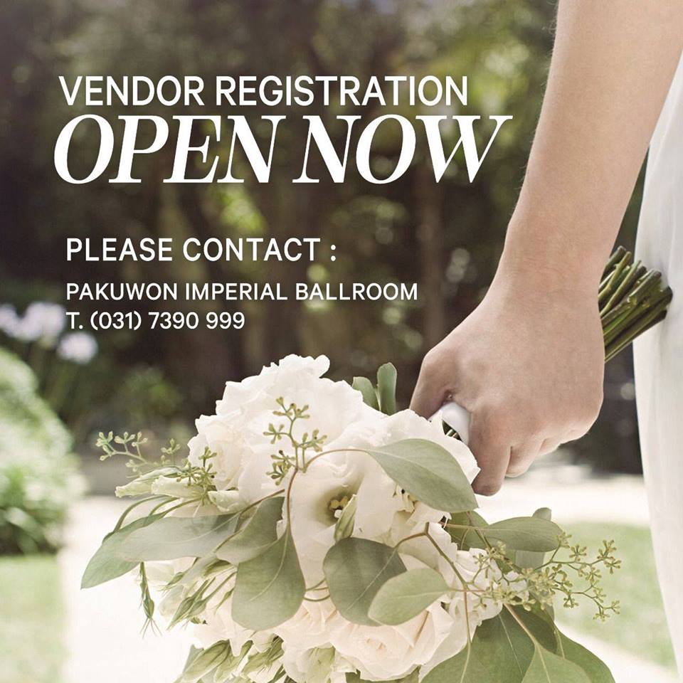 Grand Wedding & Honeymoon Fair - Pakuwon Imperial Ballroom Surabaya, 23-24 September 2017