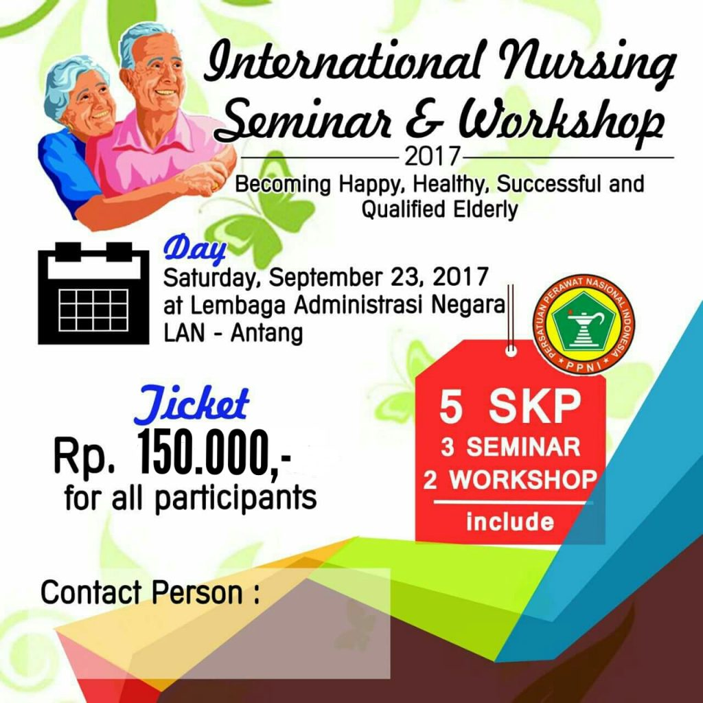 International Nursing Seminar & Workshop - LAN Makassar, 23 September 2017
