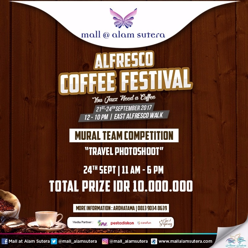 Mural Team Competition Mall @ Alam Sutera, 24 September 2017