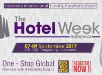 The Hotel Week Indonesia - ICE BSD City, 7-9 September 2017