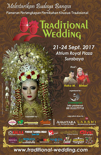Traditional Wedding Exhibition - Royal Plaza Surabaya, 21-24 September 2017