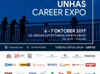 UNHAS Career Expo - Makassar, 6 - 7 Oktober 2017