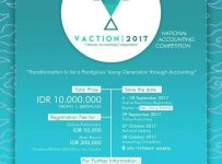 VACTION (Veteran Accounting Competition) - UPN Veteran Jakarta, 28 Oktober 2017