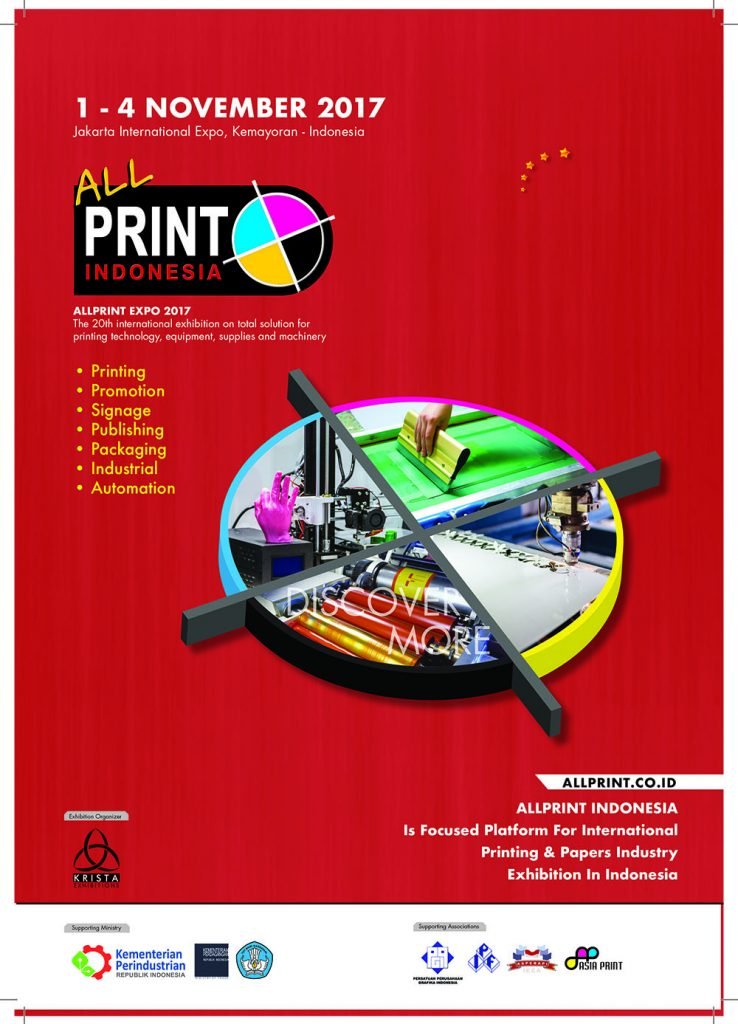 Allprint Indonesia - Jakarta International Expo, 1-4 November 2017