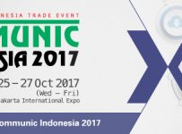 Communic Indonesia - Jakarta International Expo, 25-27 Oktober 2017