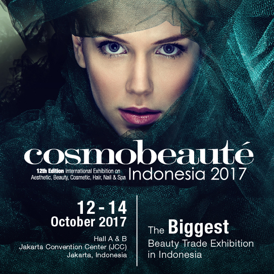 Cosmobeaute Indonesia - Jakarta Convention Center, 12-14 Oktober 2017