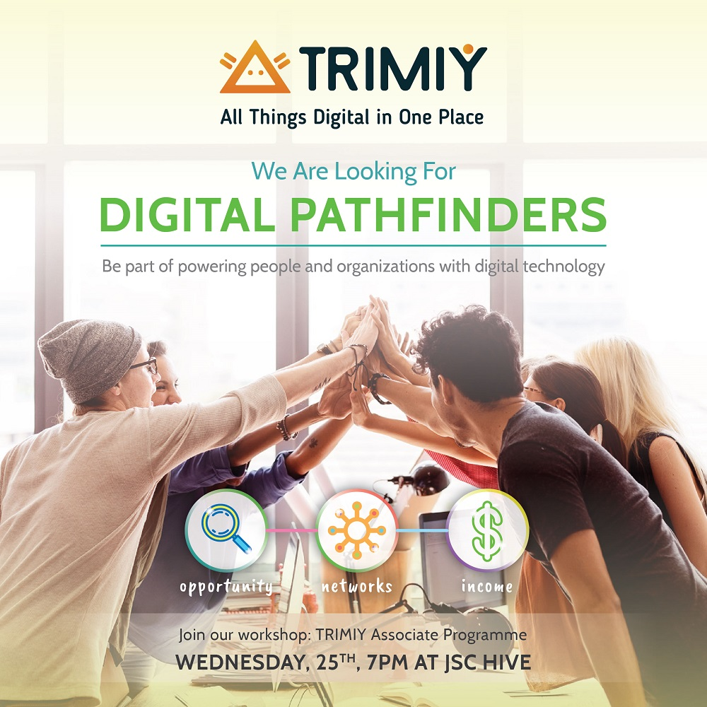Digital Pathfinders Workshop with Trimiy - JSC Hive Coworking Space, 25 Okt 2017