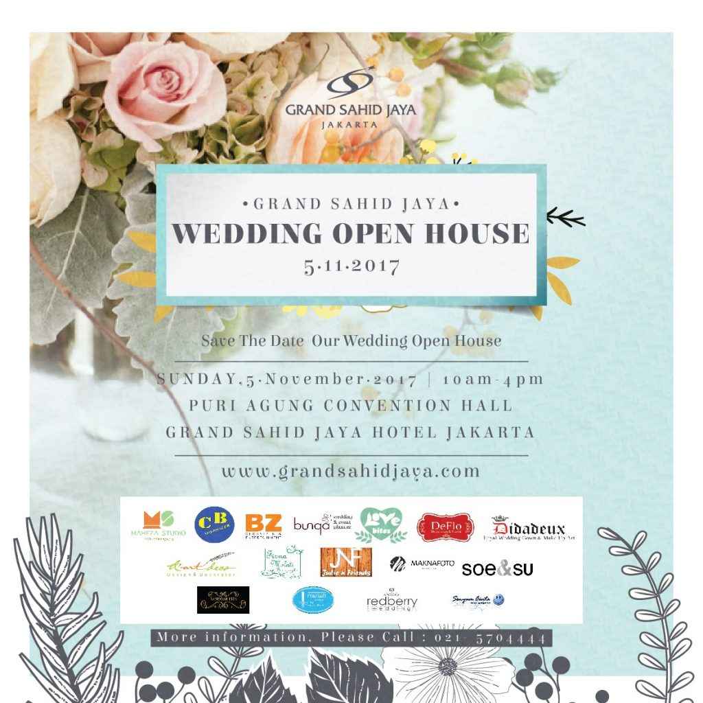 Grand Sahid Jaya Wedding Open House - Puri Agung Convention Hall, 5 November 2017
