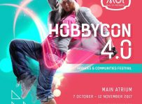 Hobbycon 4.0 - Mall of Indonesia (MOI), 7 Oktober - 12 November 2017