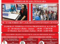 Indonesian Hospital Expo - Jakarta Convention Center, 18-21 Oktober 2017