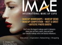 International Makeup Artist Expo (IMAE) - Balai Kartini Jakarta, 6-8 Oktober 2017