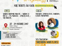 Introduction to Psychology (ITP) - Universitas Indonesia, 28-29 Oktober 2017