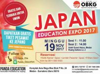 Japan Education Expo - Grand Aston Hotel Medan, 19 November 2017
