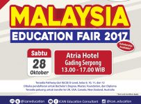 Malaysia Education Fair - Hotel Atria Gading Serpong, 28 Oktober 2017