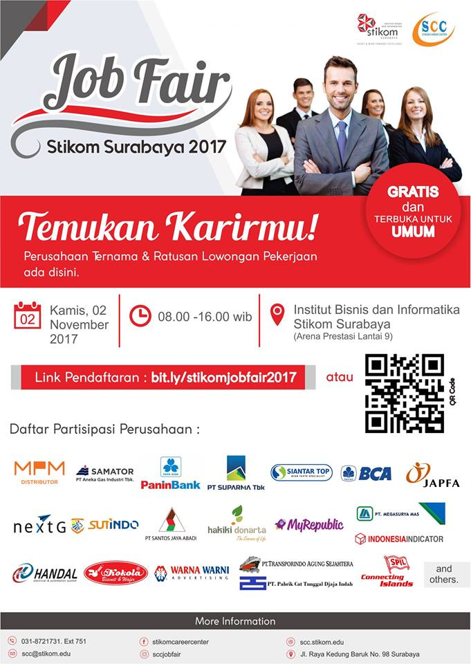 STIKOM Jobfair - Surabaya, 2 November 2017