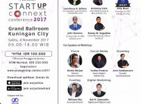 Startup Connext Conference - Grand Ballroom Kuningan City, 4 November 2017