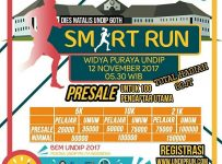 UNDIP Smart Run - Semarang, 12 November 2017