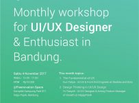 UX Wannabe Workshop - Freenovation Space Dago, 4 November 2017